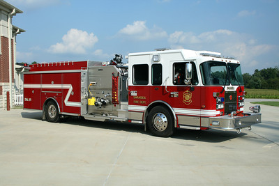 SWANSEA FD  ENGINE  SPARTAN-CRIMSON