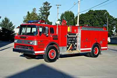 DAKOTA FPD  ENGINE 3402  1987  FORD C8000 - 1989  3-D   1000-1000   X- CEDARVILLE FPD