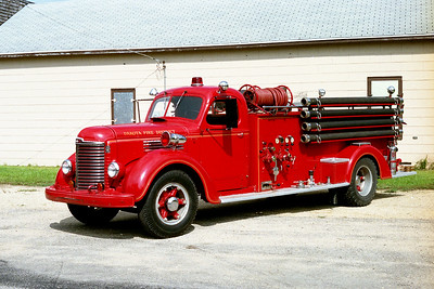 DAKOTA FPD  ENGINE 5    1949  IHC KB - BOYER   500-500