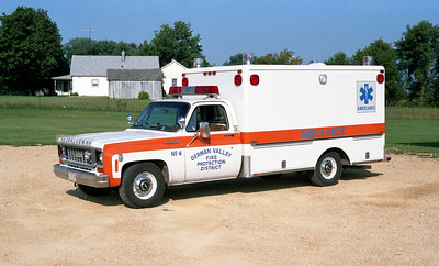 GERMAN VALLEY  RESCUE 4  CHEVY - HORTON