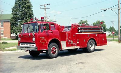 LENA FPD  ENGINE 1  1978  FORD C - HOWE   750-750