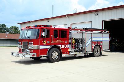 LENA FPD  ENGINE 3901  1999  PIERCE SABER   1250-1000    EC-112   X- CHAMPIONS AREA FD TX