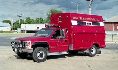 LENA FPD  RESCUE 3941  1990  CHEVY - STAHL