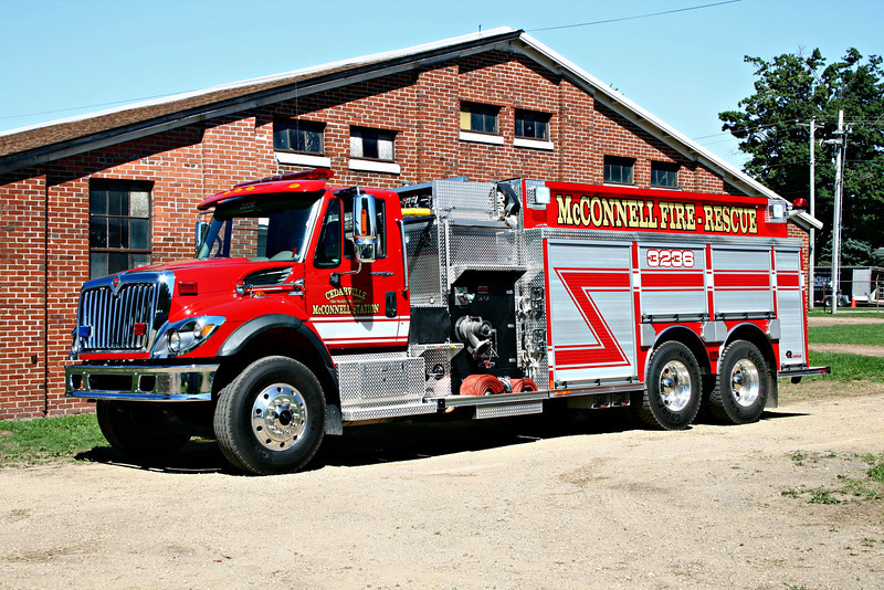 CEDARVILLE FPD - McCONNELL  ENGINE 3236