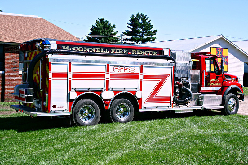 CEDARVILLE FPD - McCONNELL  ENGINE 3236  SIDE VIEW