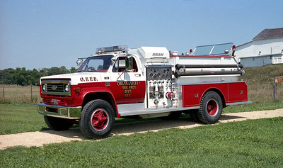 ORANGEVILLE FPD  ENGINE 2  1977  CHEVY C65 - JOHN BEAN   750-750