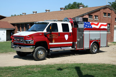 ORANGEVILLE ENGINE 3362  2008 MONROE FIRE SCHOOL