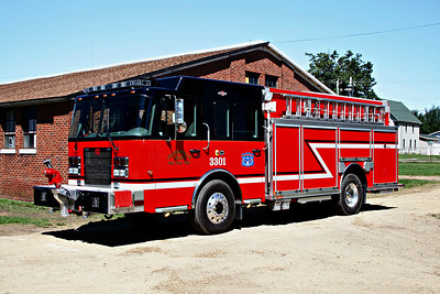 ORANGEVILLE FPD  ENGINE 3301  2009  SPARTAN ADVANTAGE  4X4 - CENTRAL STATES   1250-500-20F     # 1387307     MONROE FIRE SCHOOL  2010