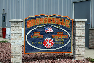 ORANGEVILLE OUTDOOR SIGN