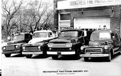ORANGEVILLE FPD GROUP SHOT APRIL 1960