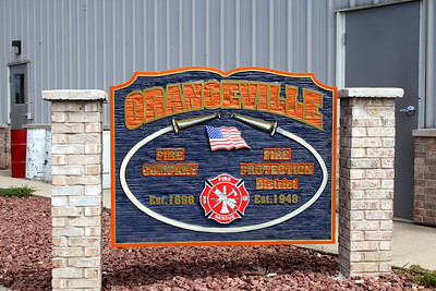 ORANGEVILLE FPD  OUTDOOR STATION SIGN