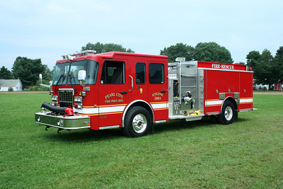 PEARL CITY FPD ENGINE 3801  SPARTAN - TOYNE