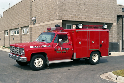 EAST PEORIA RESCUE 1  CHEVY  DRIVERS SIDE