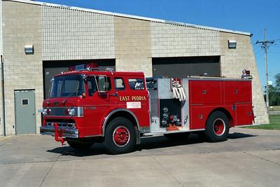 EAST PEORIA FD ENGINE 3 FORD C-8000 - PIERCE