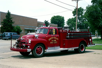 GREEN VALLEY ENGINE 71  CHEVY - ALEXIS