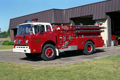 MARQUETTE HEIGHTS ENGINE 314   FORD C - AMERICAN LA FRANCE