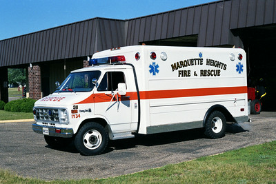 MARQUETTE HEIGHTS RESCUE 311