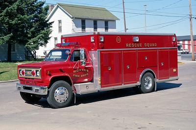 MORTON FD  SQUAD 23  1985  CHEVY C70 - SAULSBURY