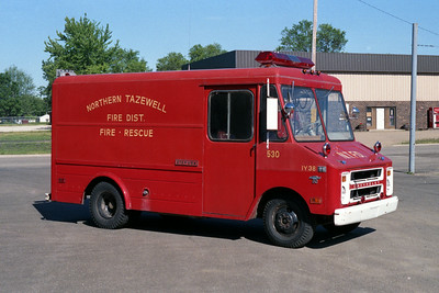NORTHERN TAZEWELL RESCUE 530  CHEVY STEPVAN