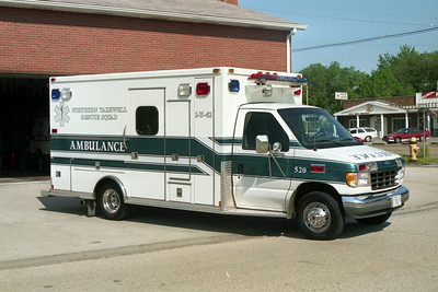 NORTHERN TAZEWELL AMBULANCE 520  FORD E350 - MEDTEC  GREEN STRIPE
