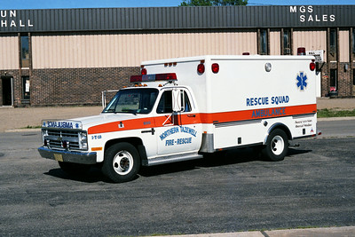 NORTHERN TAZEWELL AMBULANCE 500  CHEVY - HORTON
