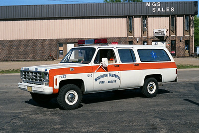 NORTHERN TAZEWELL CAR 510  CHEVY SUBURBAN