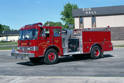 NORTHERN TAZEWELL ENGINE 501  PIERCE DASH
