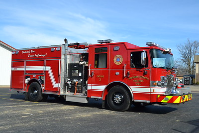 NORTHERN TAZEWELL  ENGINE 2  2016 PIERCE SABER  1250-750  29631   BILL FRICKER PHOTO