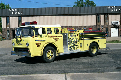 NORTHERN TAZEWELL ENGINE 504  FORD C-