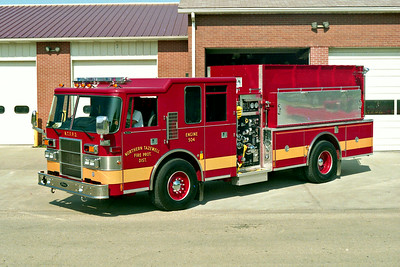 NORTHERN TAZEWELL ENGINE 504  PIERCE DASH