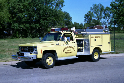 NORTHERN TAZEWELL ENGINE 505  GMC - PIERCE MINI