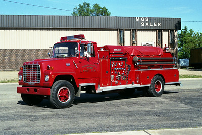 NORTHERN TAZEWELL ENGINE 502  FORD L800 - BEAN