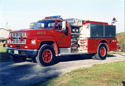 ALTO PASS ENGINE 1231  FORD F - GRUMMAN
