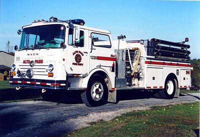 ALTO PASS ENGINE 1230  MACK CF