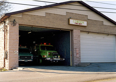COBDEN FD STATION    FRANK WEGLOSKI PHOTO