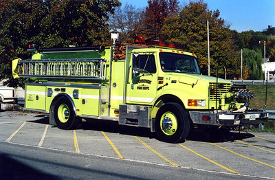 COBDEN ENGINE 1330  IHC 4900 -     FRANK WEGLOSKI PHOTO