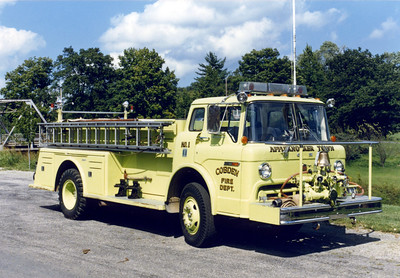 COBDEN ENGINE 1  FORD C - TOWERS     FRANK WEGLOSKI PHOTO
