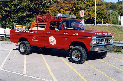 COBDEN BRUSH 1332  FORD F -    FRANK WEGLOSKI PHOTO