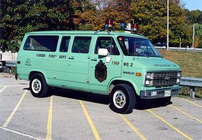 COBDENRESCUE 1350  CHEVY VAN     FRANK WEGLOSKI PHOTO