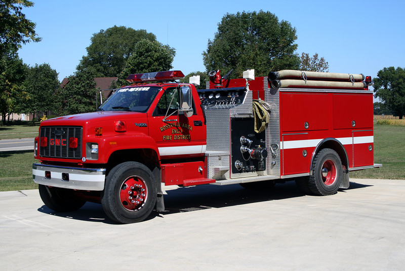 ROSSVILLE ENGINE 1  GMC