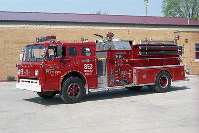 WESTVILLE AREA FPD  ENGINE  FORD C-AMERICAN LAFRANCE