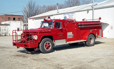 ALEXIS FPD  ENGINE 2  1967  FORD F850 - ALEXIS   500-1000    #855