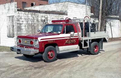 ALEXIS FPD  BRUSH 5  1981  CHEVY - 2003  ALEXIS   400-400     X-PIERCE ATTACK UNIT