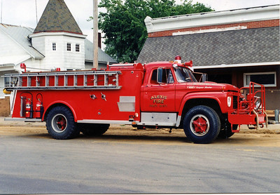 ALEXIS FPD - BURGES UNIT  ENGINE 6  1959  FORD F850 - ALEXIS   500-750