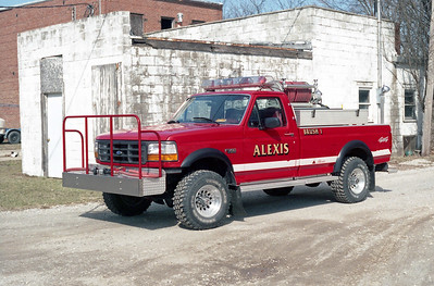 ALEXIS FPD  BRUSH 1  1996  FORD F350 4X4 - ALEXIS   400-300  SK-575