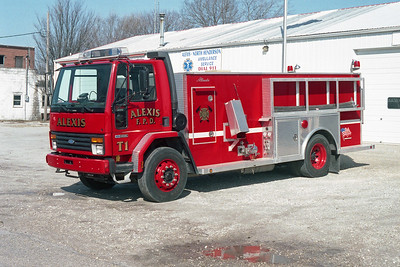 ALEXIS FPD  TANKER 1  1992  FORD CARGO 8000 - ALEXIS   500-1600   #1492