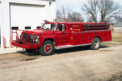 ALEXIS FPD - NORTH HENDERSON UNIT  ENGINE 3  1973  FORD F750   500-1000   #1055