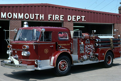 MONMOUTH  ENGINE 3  1965 ALFCO 900  1000-  RON HEAL PHOTO