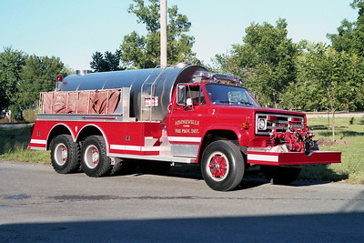 ADDIEVILLE  TANKER 132   1006 GMC - TOWERS   1000-2500   #1885