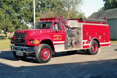 ADDIEVILLE  ENGINE 125   1997 FORD F - KME   1250-1000   #3287
